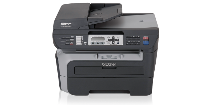 اتصال چاپگر Brother MFC7840w به WiFi