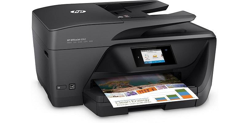 راه اندازی سریع HP Officejet 6962